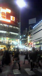 ひさびさ渋谷下車